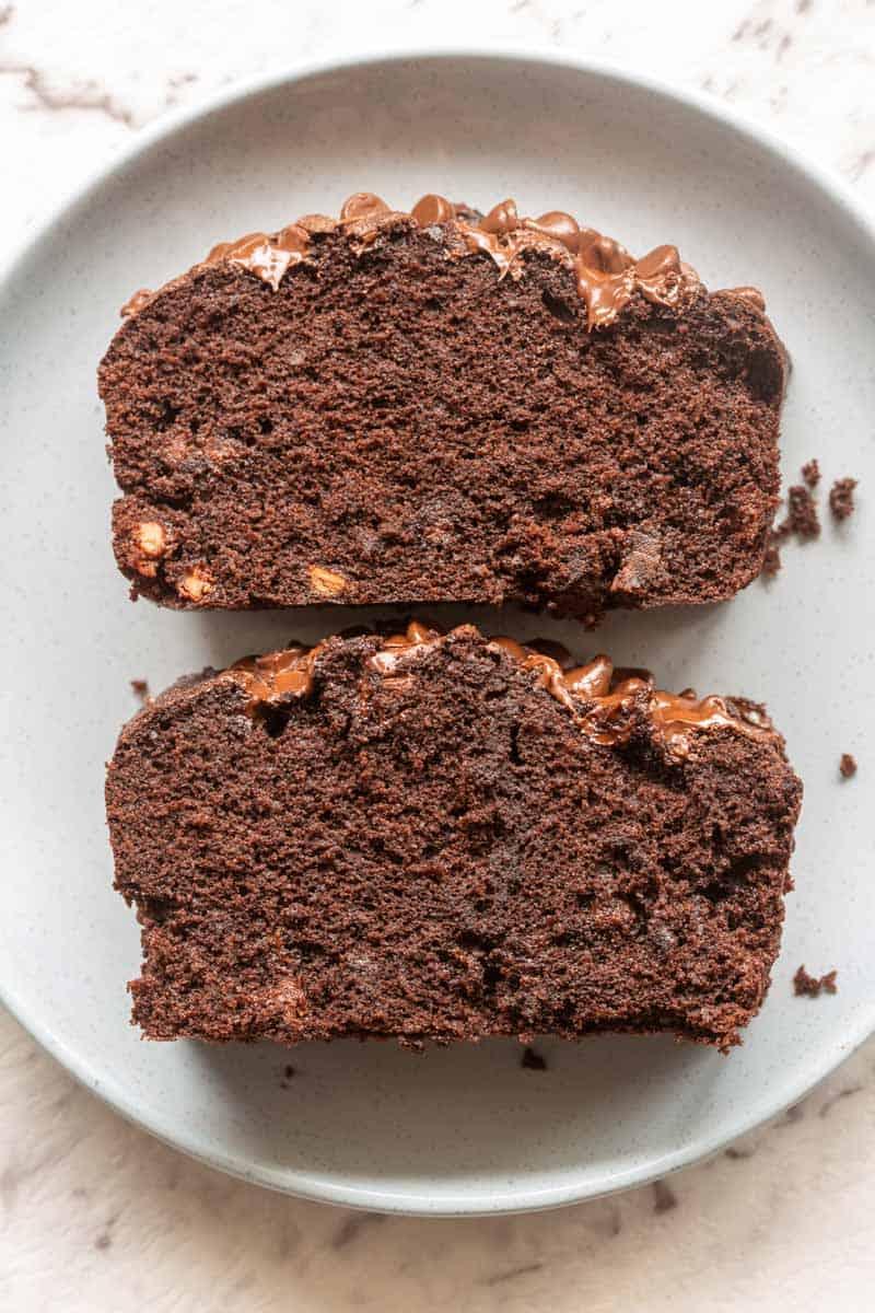 almond flour chocolate zucchini bread