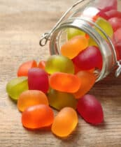 low calorie candy