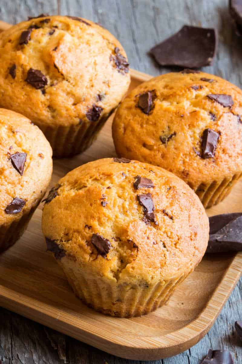 muffins with oat flour