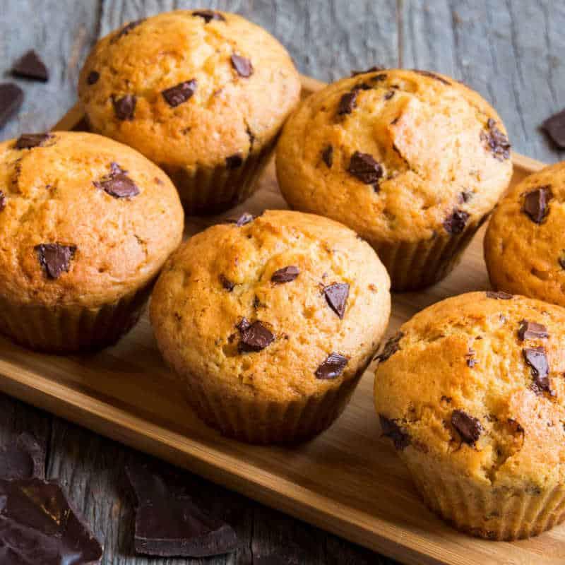 Oat Flour Muffins- 5 flavor options! - The Big Man's World ®