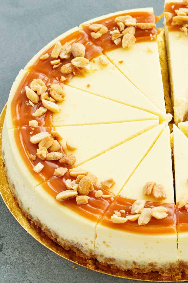 cadbury Caramilk cheesecake