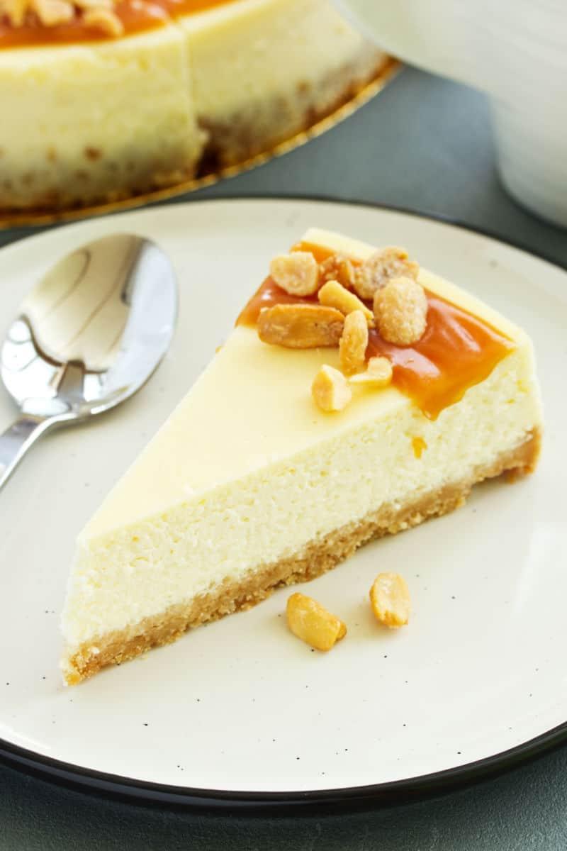 no bake Caramilk cheesecake