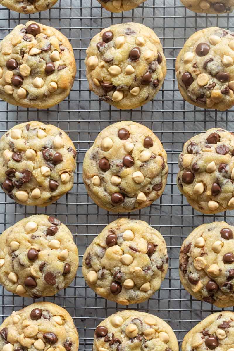 Caramilk chocolate chip cookies