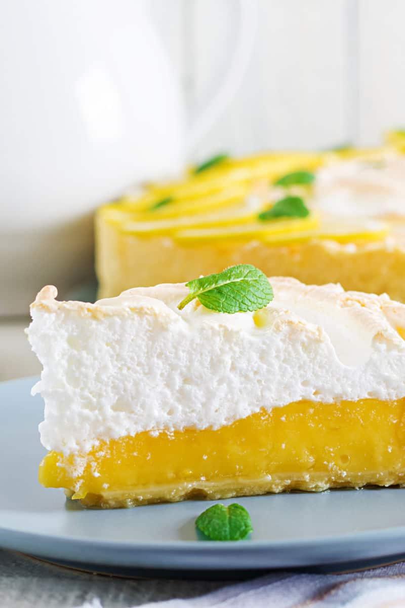 low carb lemon meringue pie