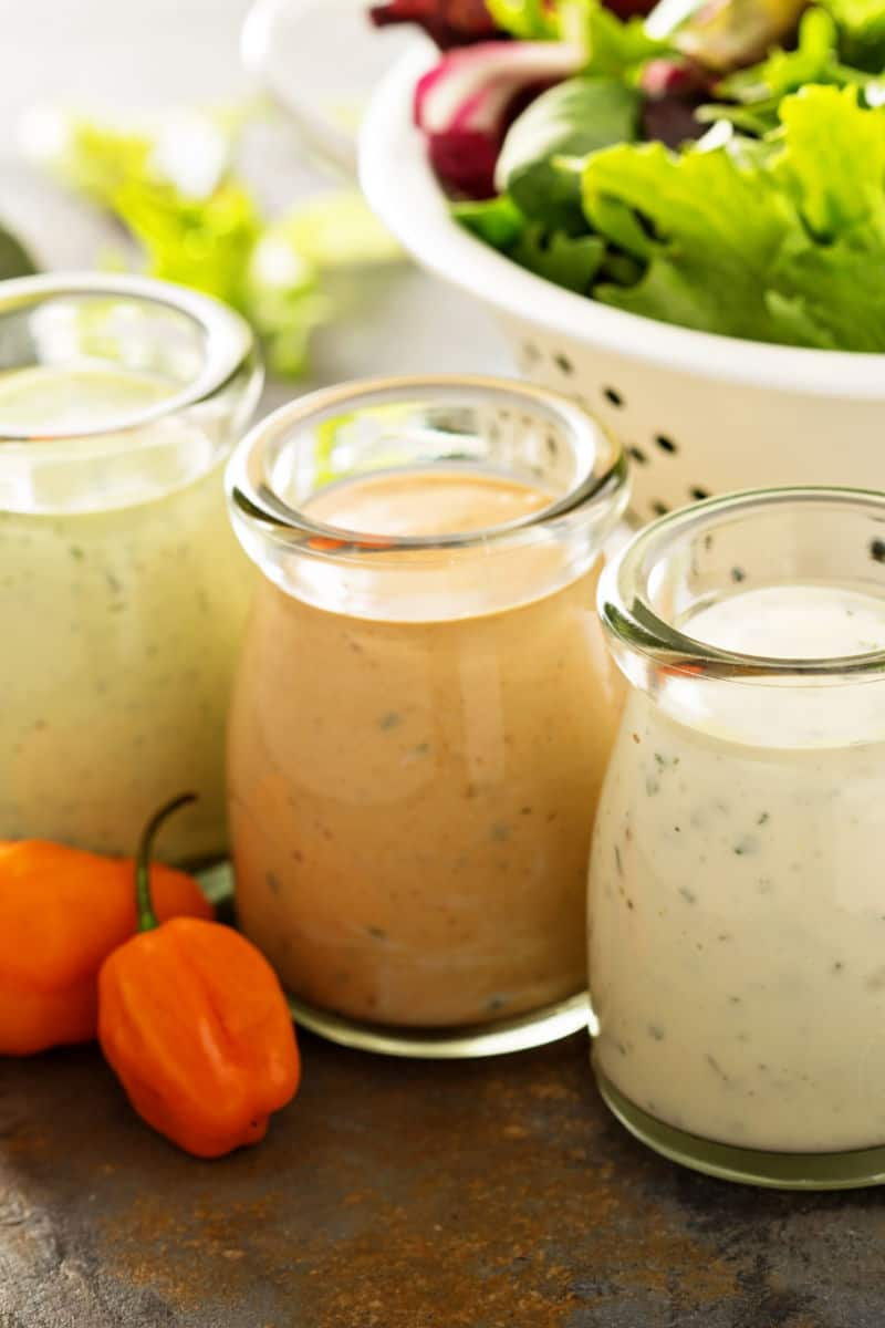 keto friendly salad dressing