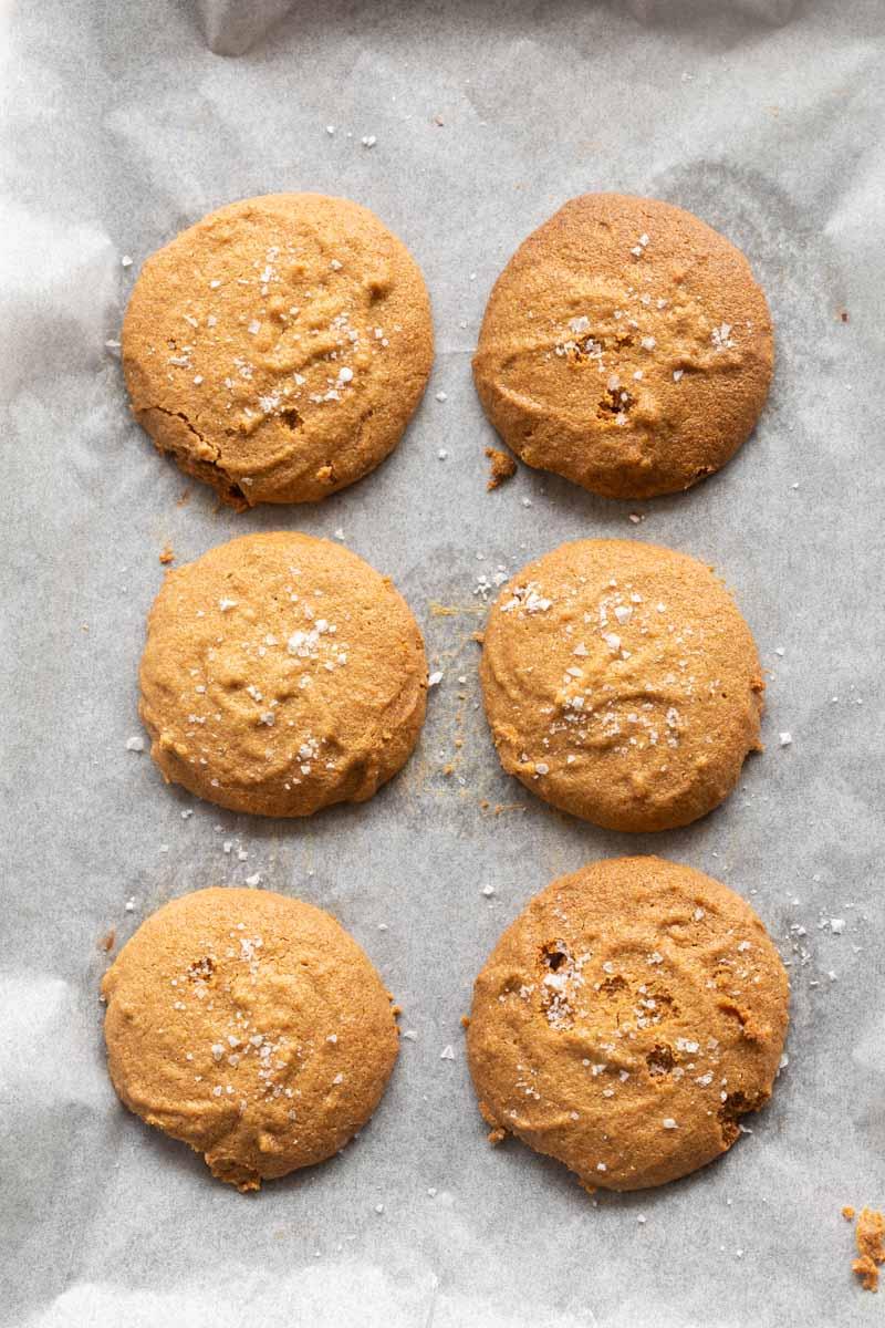 two ingredient peanut butter cookies