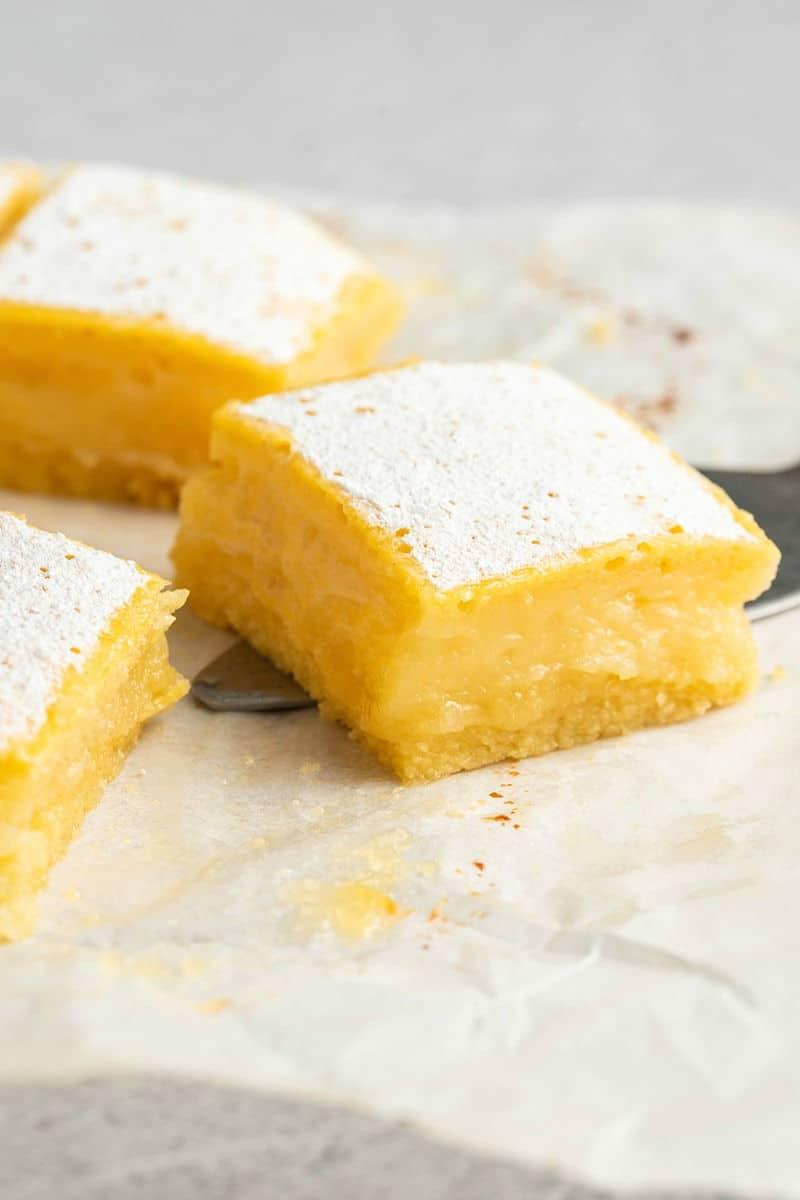dairy free lemon bars