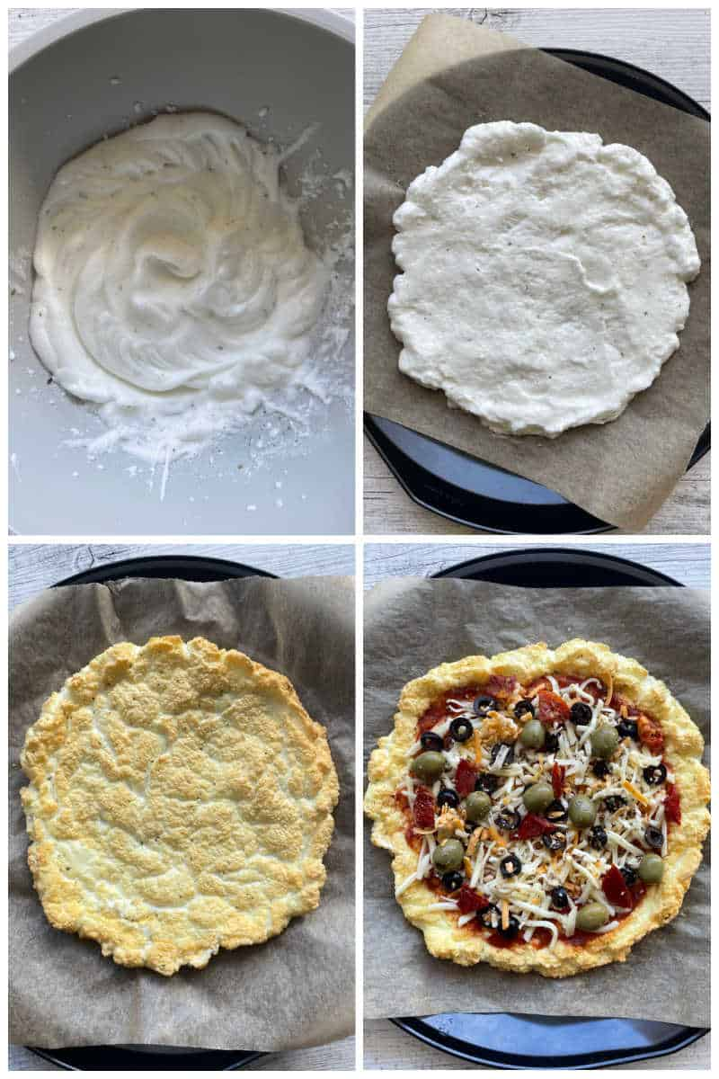how to make cloud bread pizza