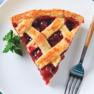 keto cherry pie