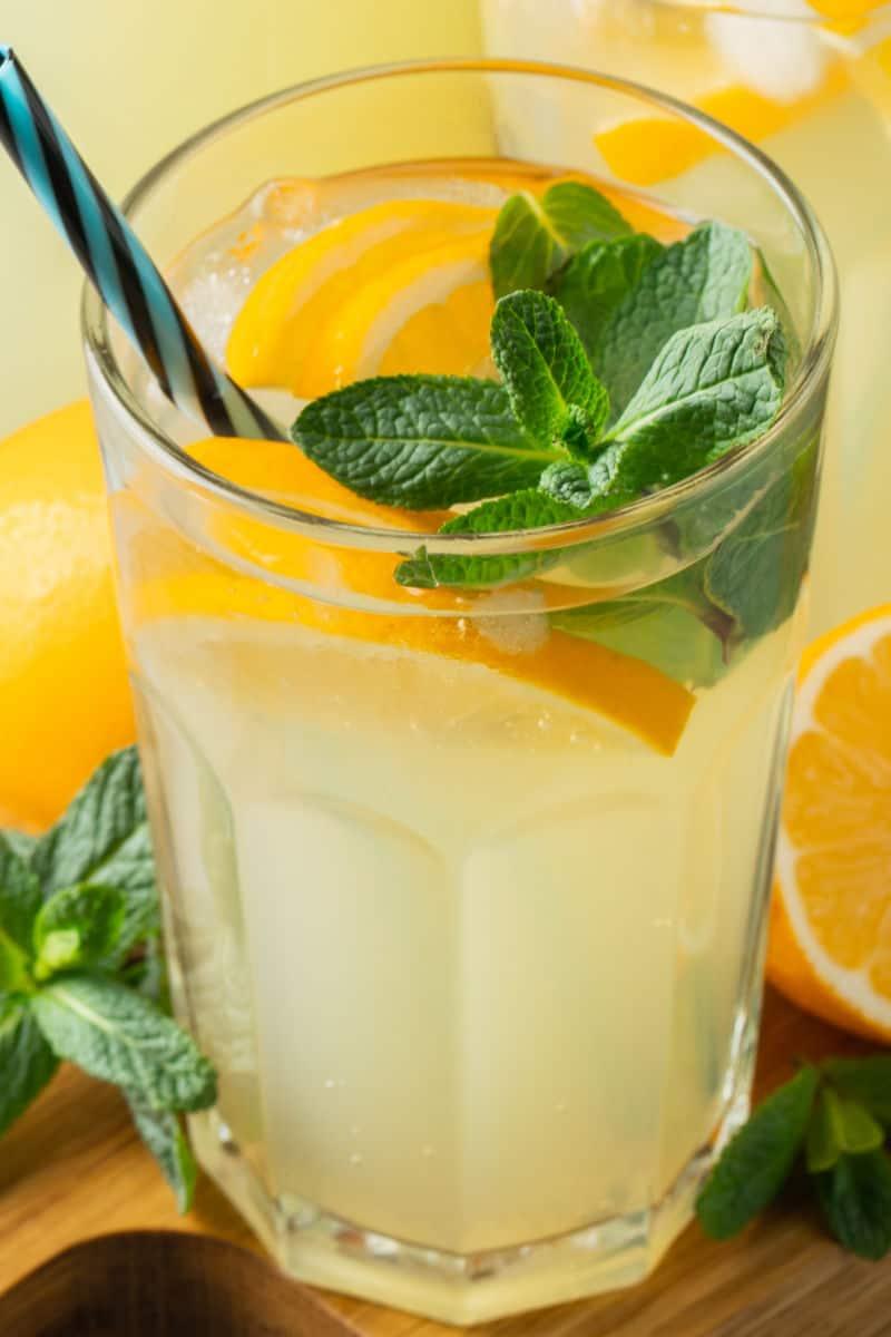 low carb lemonade