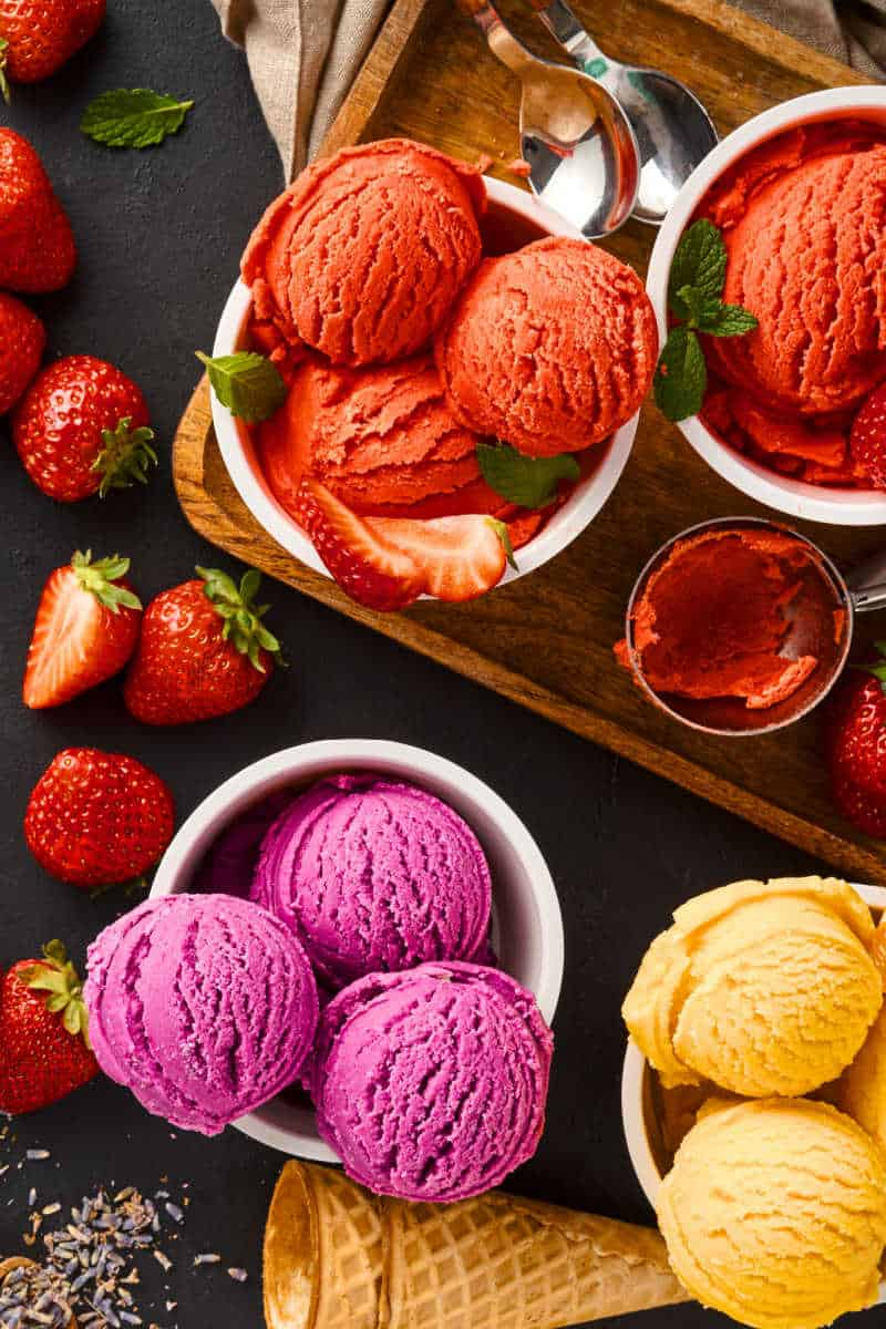 low cal ice cream