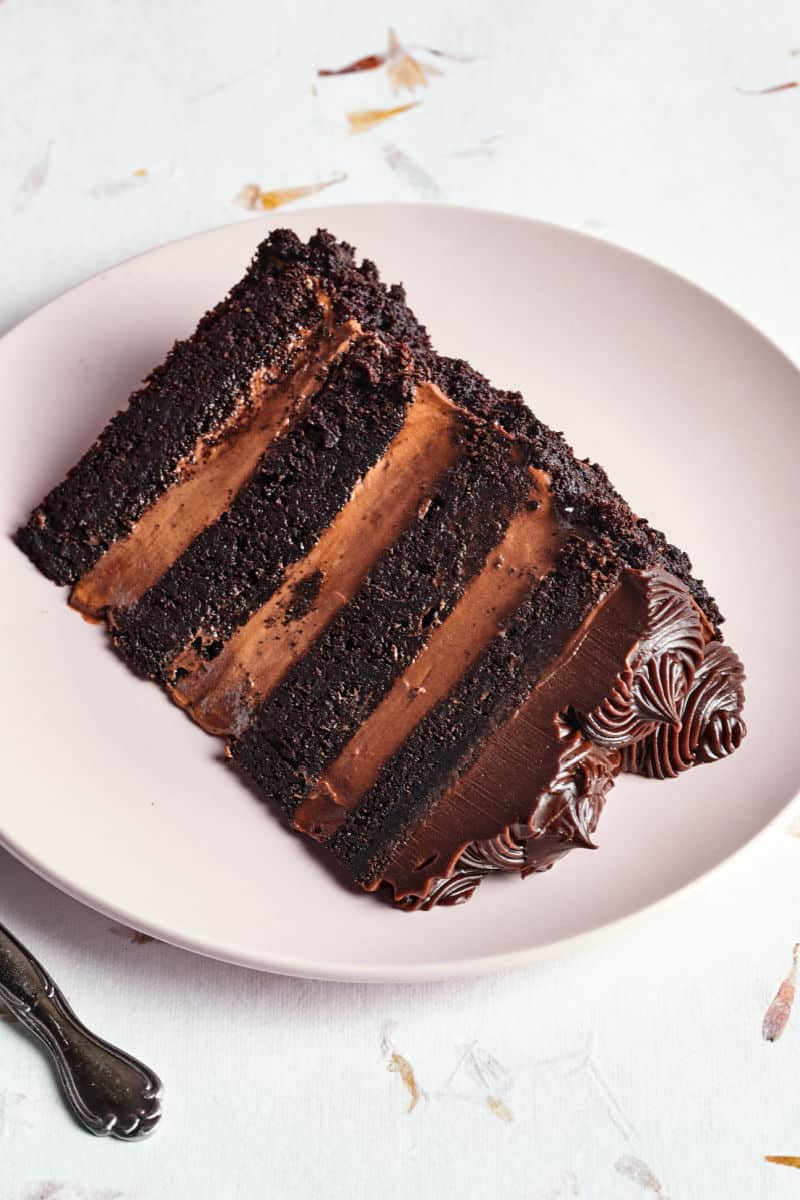 two ingredient chocolate frosting