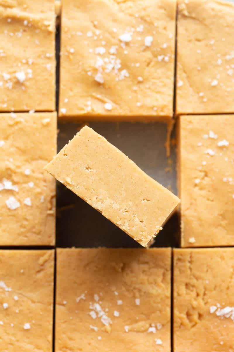 2 ingredient peanut butter fudge