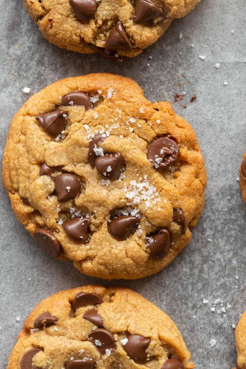 3 ingredient chocolate chip cookies