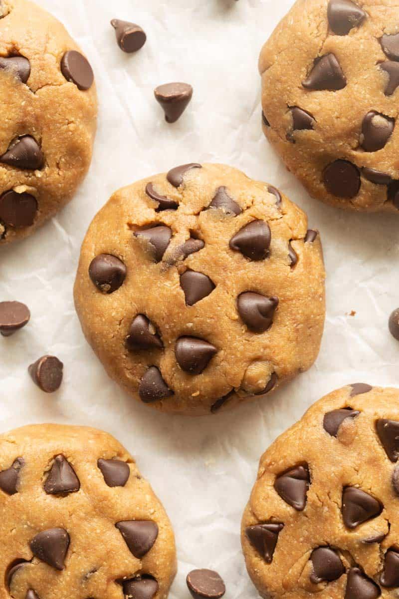chocolate chip no bake cookies