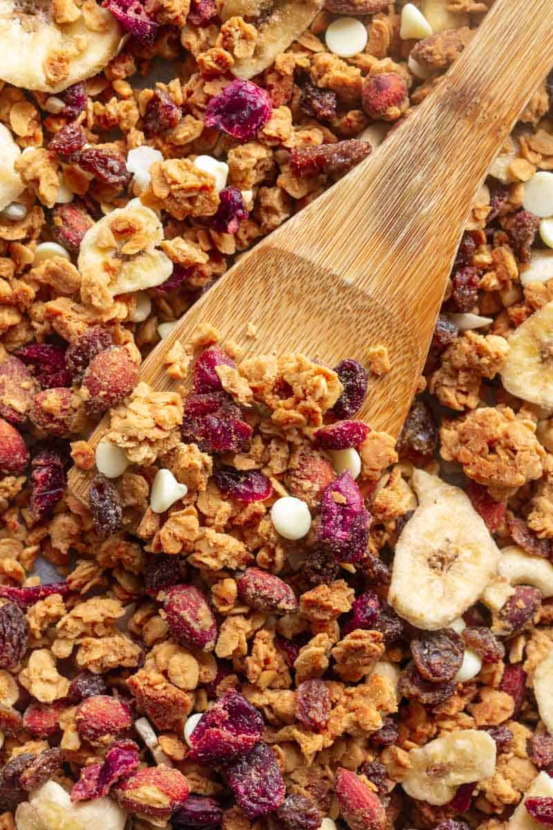 protein powder granola