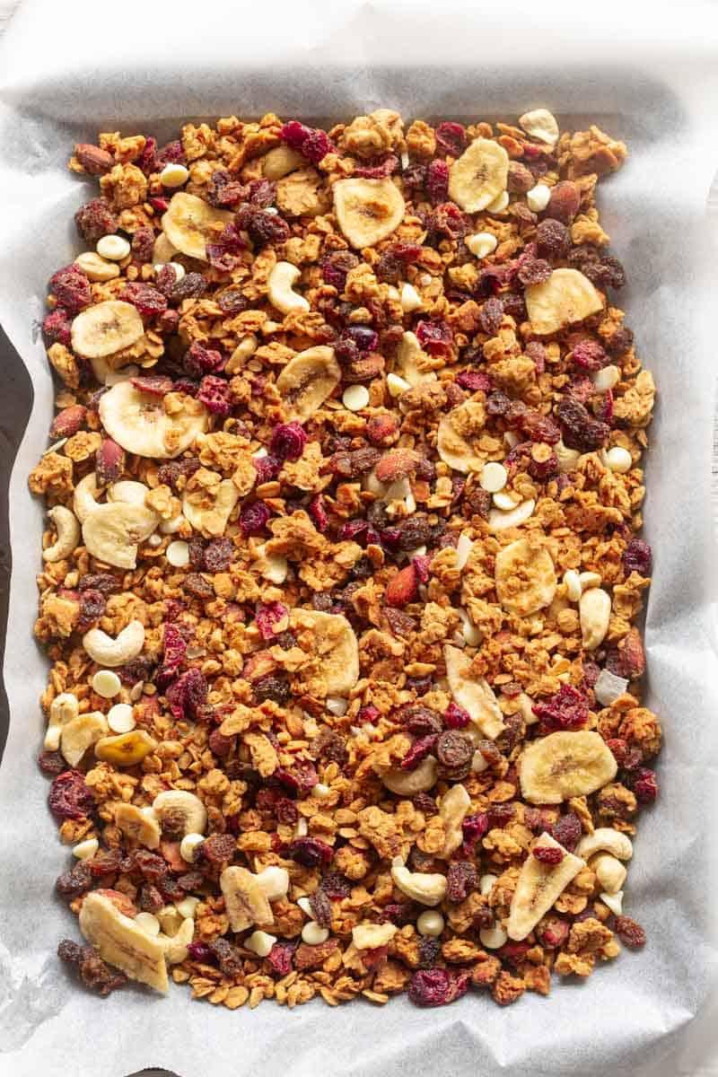 high protein granola