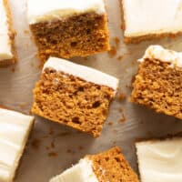 2 ingredient pumpkin cake