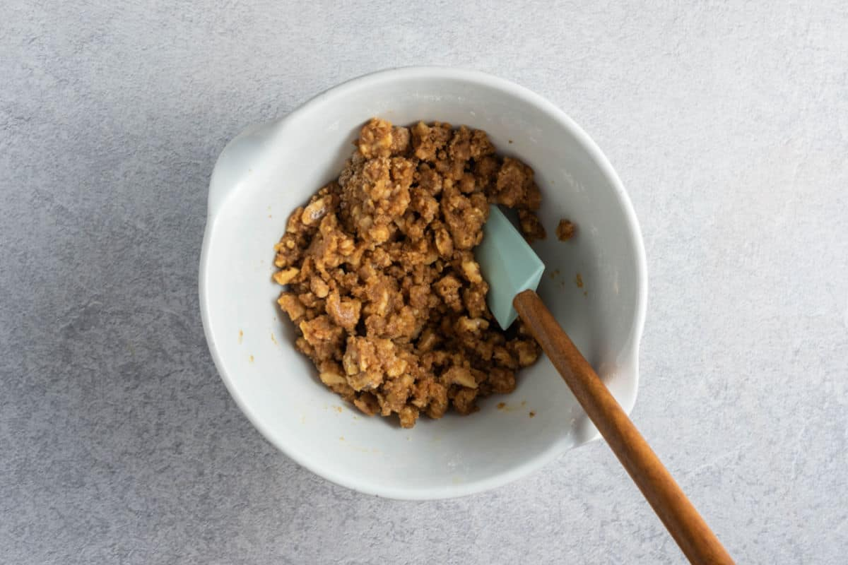 healthy crumb topping