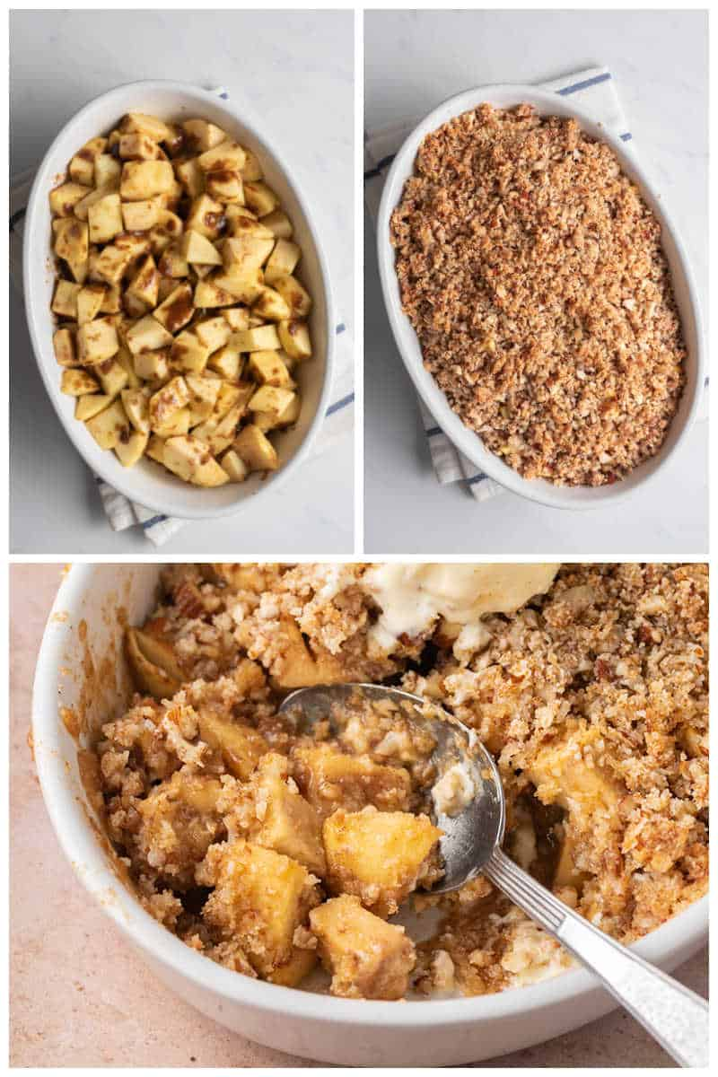 how to make a healthy apple crisp