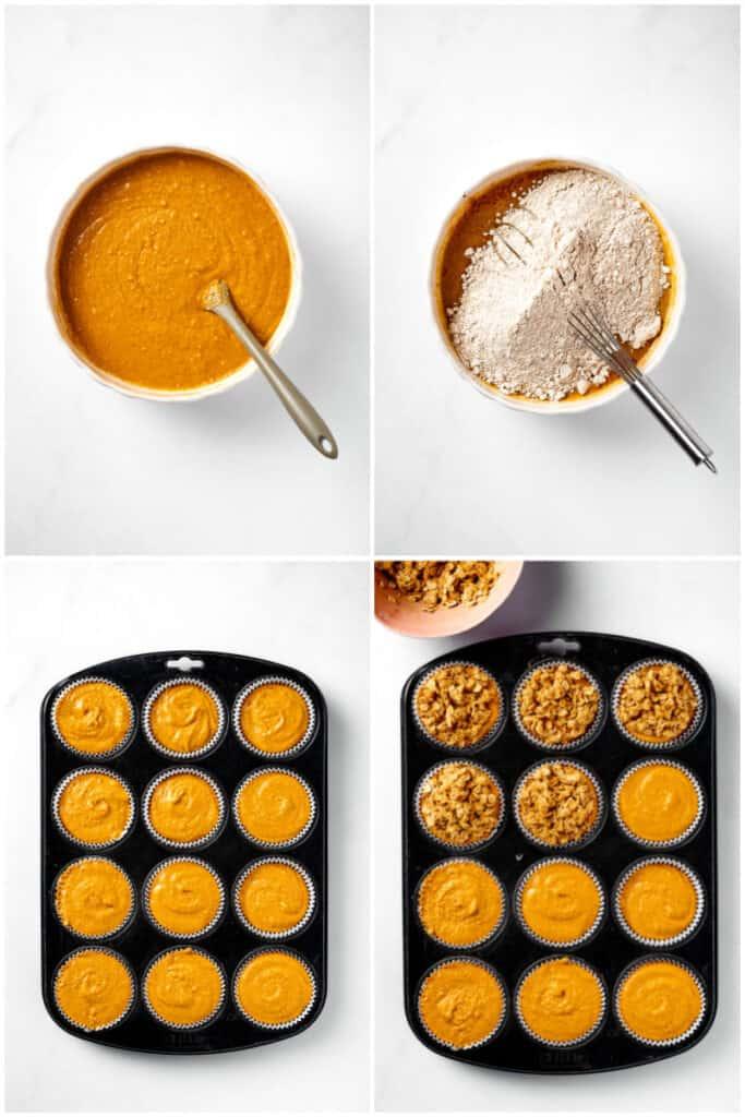 how to make healthy pumpkin muffins