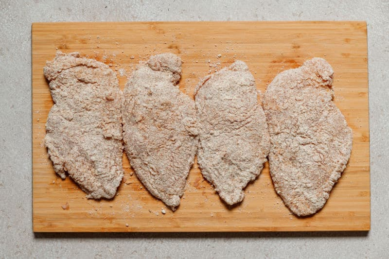 crumbed chicken cutlets