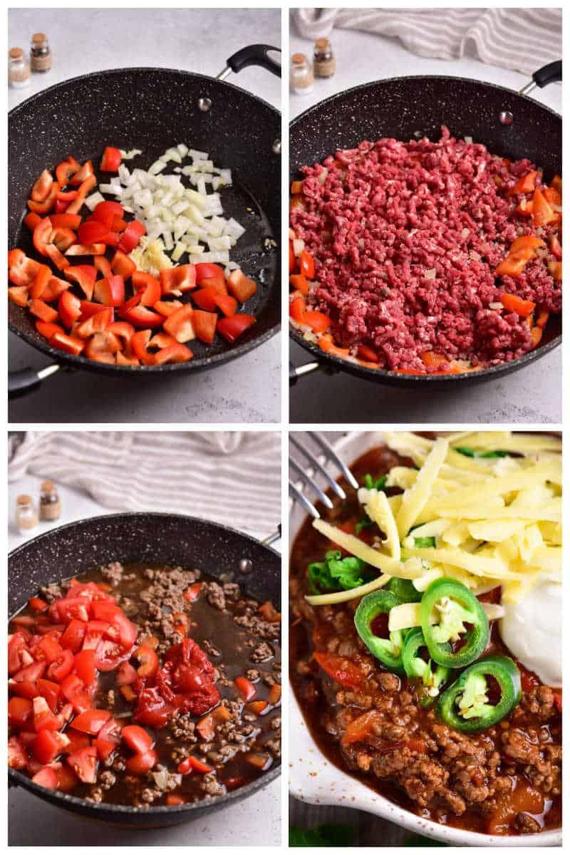 how to make keto chili