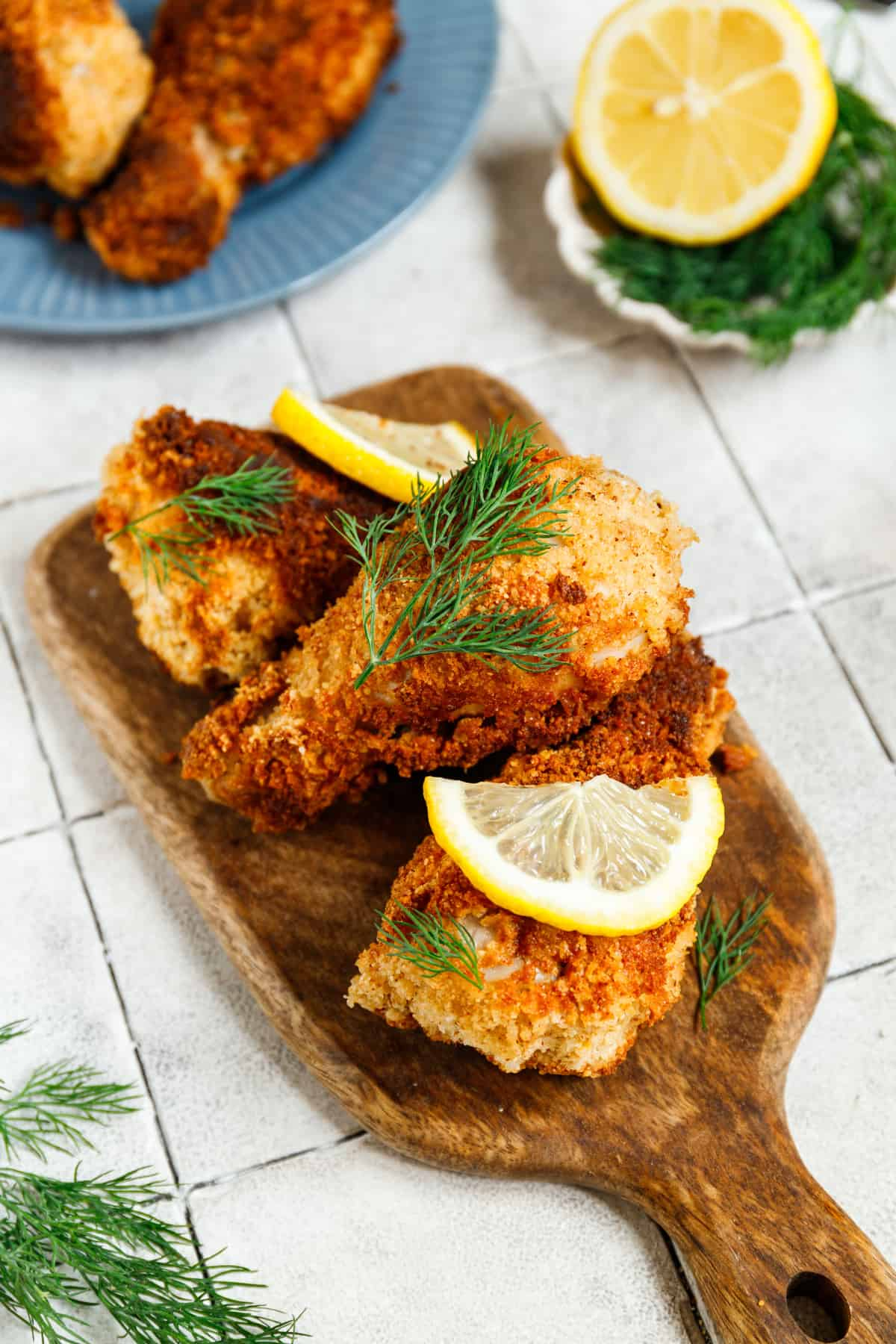 low carb fried chicken