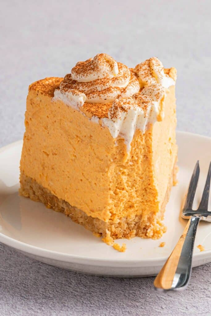 keto pumpkin cheesecake