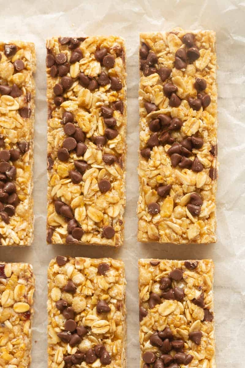 high protein granola bars