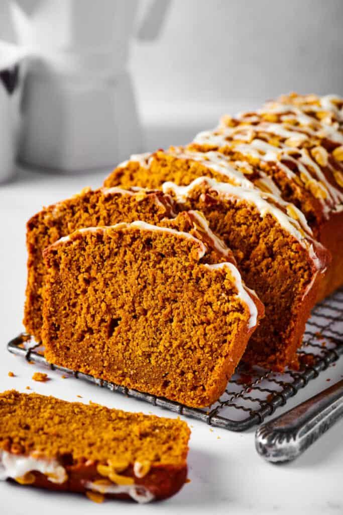 oat flour pumpkin bread