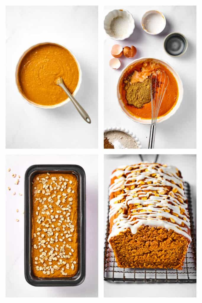 how to make healthy pumpkin bread