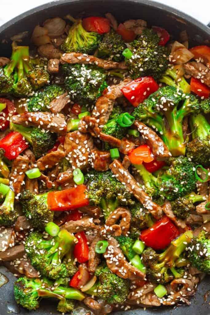 Hunan spicy beef