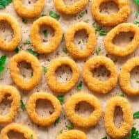 Keto onion rings
