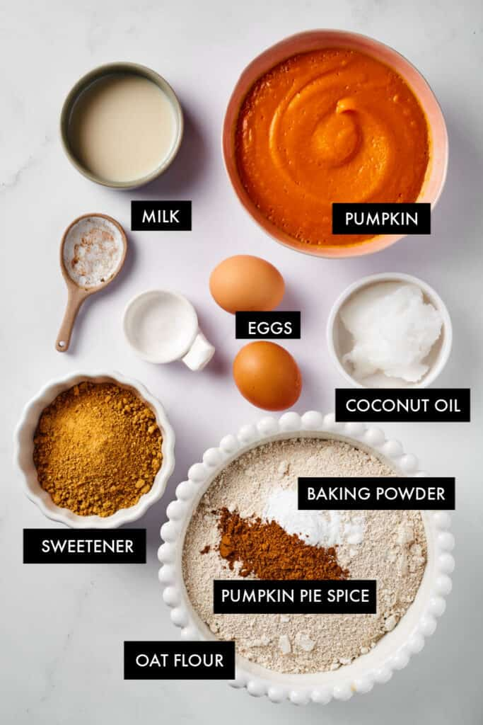 healthy pumpkin bread ingredients